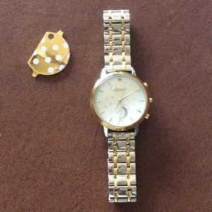 Kate Spade Hybrid Two Tone Smartwatch